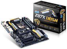 Gigabyte GA-Z87X-UD5H - Placa base (Socket Intel LGA1150, 4 x DDR3 DIMM hasta 64 GB, 10 x SATA, 10 x USB, 2 x HDMI, Audio HD 7.1) B00CUYOSP2 - http://www.tabletsprecios.com/gigabyte-ga-z87x-ud5h-placa-base-socket-intel-lga1150-4-x-ddr3-dimm-hasta-64-gb-10-x-sata-10-x-usb-2-x-hdmi-audio-hd-7-1-b00cuyosp2.html