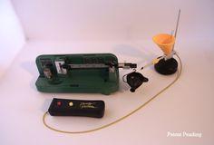 Dandy 2-Speed Electric Powder Trickler   Dandy Products, LLC