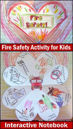 As a teacher, we recognize that your time is valuable. We also understand that you wish to provide your students with fun and effective fire safety activities.  Interactive notebooks a great way to reinforce fire safety concepts for all ages with easy differentiation.