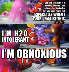 Ideas funny disney pixar finding nemo for 2019 Disney Pixar, Disney Memes, Disney Quotes, Disney And Dreamworks, Walt Disney, Funny Disney, Disney Nerd, Disney Cartoons, Disney Love