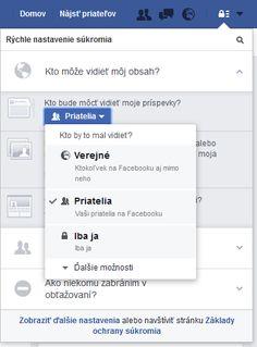 Pozor na toto nastavenie na Facebooku! Možno o sebe dávate vedieť viac, ako chcete | Info.sk Bratislava