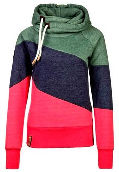 The Vogue Fashion: Tri-Color Naketano Comfy Hoodie