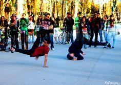 Passeig de Lluis Companys, #Barcelona #ballerini #breakdance