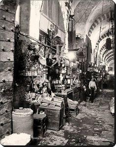 Mısır çarşısı - 1890 lar