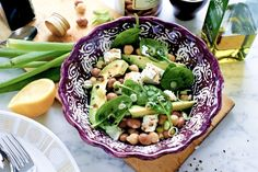 Avokado- och bönsallad