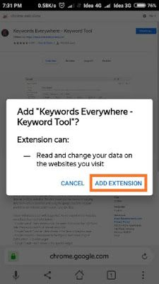 Keyword Everywhere Ko Mobile Me Kaise Install Karen Keyword Tool Google Chrome Extensions