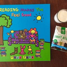 Snack time with Todd Parr.