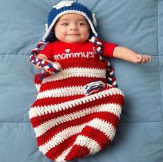 Cute Crocheted Free Baby Cocoon Patterns | 1001 Crochet by 1001crochet