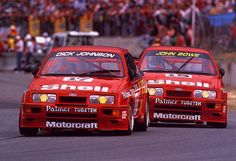 1988 Ford Sierra-Cosworth from Dick Johnson Racing Classic Touring Cars Sports Car Racing, Sport Cars, Race Cars, Auto Racing, Motor Sport, Australian Muscle Cars, Aussie Muscle Cars, Ford Rs, Car Ford