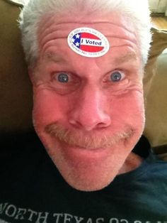 Ron Perlman (kinda scared the crap out of me at first....)
