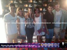 Atores de Morangos com Açúcar. Todas as fotos em: http://propagandistasocial.com/festaveraotvi2012