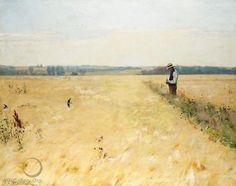 Hans Andersen Brendekilde I Kornmarken (In The Cornfield)