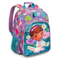 Doc McStuffins Backpack - Personalizable | Backpacks & Lunch Totes | Disney Store