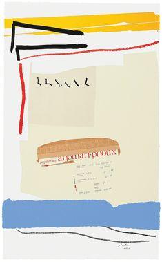 Robert Motherwell, America-La France Variations III, 1984, Bernard Jacobson Gallery