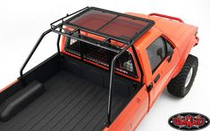 Roll Bar/Roof Rack w/Lightbar Frame and Front & Rear Lights for Mojave Body Truck Accesories, Pickup Truck Accessories, Nissan Trucks, Toyota Trucks, Nissan 4x4, Lifted Chevy Trucks, Pickup Trucks, Truck Roof Rack, Roof Racks For Trucks