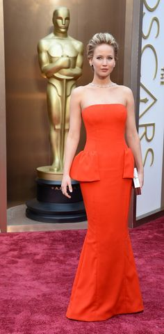 Oscars 2014 red carpet fashion – in pictures