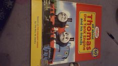 Found this in sue rider charity shop today it was only £1.50. I like Thomas the tank engine. My childhood. A lucky find another classic childhood memorie 😊😊😊🚂🚂🚂