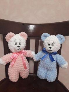 Crochet Bear Bear Amigurumi Plush Art Animal Handmade  Bear  Interior Bear Baby Shower Gift