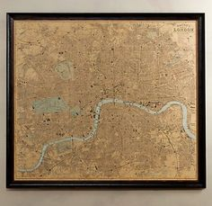 map of London would be cool, though a less expensive version, please!