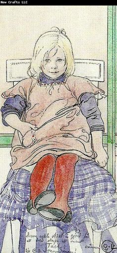Carl Larsson en unge
