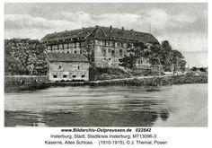 Insterburg, Kaserne, Altes Schloss