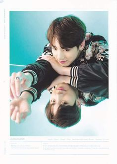 These are the photos for the Program Book of the BTS World Tour! The colors and the photos are ...