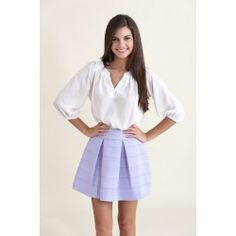 Early Morning Blouse-White $40.00