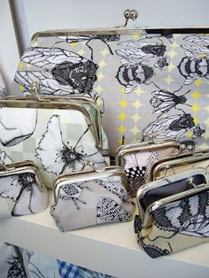 [ CRAIG FELLOWS ] DESIGNER - PRINTER: April 2012     Has to be one of my favourite designers, beautiful products. Textile Products, Custom Printed Fabric, Bee Jewelry, A Level Art, Bugs And Insects, Save The Bees, New Print, Textile Artists, Fashion 2017