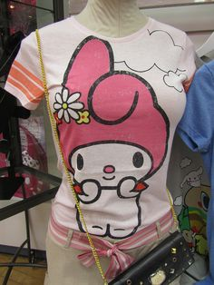 My Melody shirt. Hello Kitty's less popular, but equally as cute friend