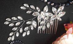 Crystals Bridal Wedding Bridal hair comb Wedding Hair Comb