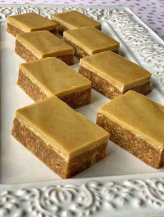 VJ COOKS no bake gingernut slice