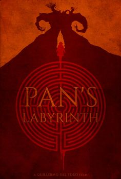 Pan's Labyrinth - minimal movie poster - Edward Julian Moran II