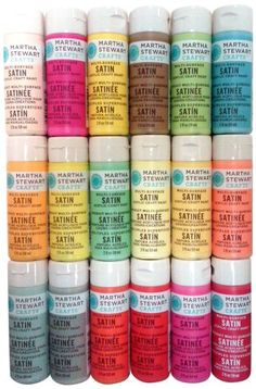 Martha Stewart Crafts Multi-Surface Satin Acrylic Craft P…
