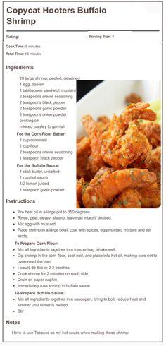@CreoleContessa's Copycat Hooters Buffalo Shrimp - creolecontessa.com