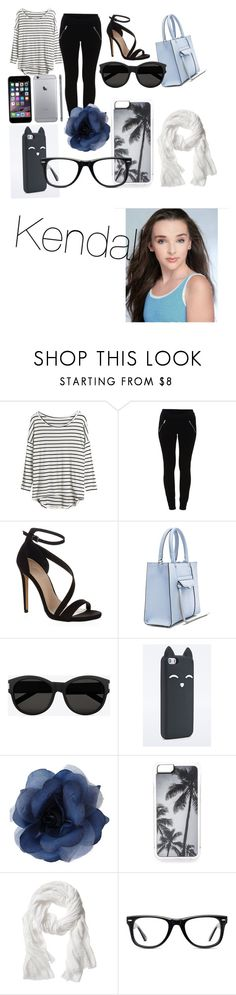 """""""Kendall"""" by erinbeatrice ❤ liked on Polyvore featuring VILA, Carvela Kurt Geiger, Rebecca Minkoff, Yves Saint Laurent, Zero Gravity, Banana Republic and Muse"""