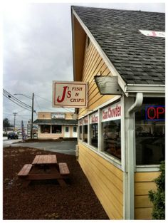 J 39 s fish and chips in lincoln city oregon for Lincoln city fishing charters