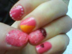 mixed nails^^