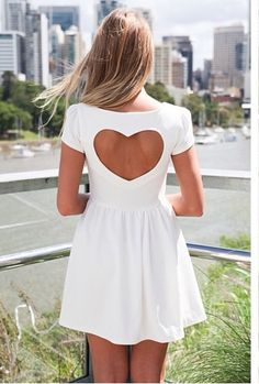 Princess dress code . White . Heart . City . Beautiful . Fashion ♡