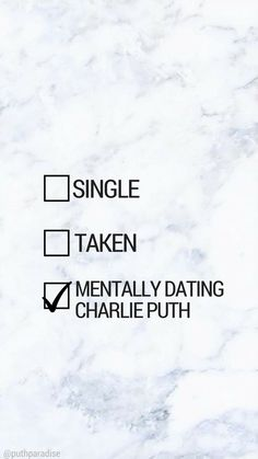 Mentally dating Charlie Puth | Charlie Puth phone wallpaper
