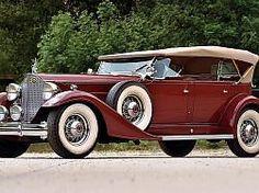 1933 Packard Twelve Sport Phaeton