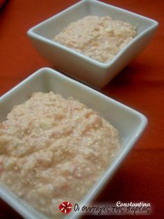 Hot cheese dip my-cuisine Sweets Recipes, Snack Recipes, Snacks, Desserts, Hot Cheese Dips, Yummy Mummy, Greek Recipes, Finger Foods, Easy Meals