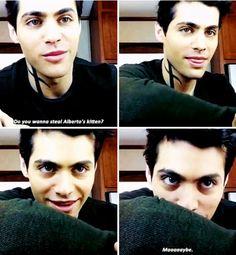 <3 He is so cute