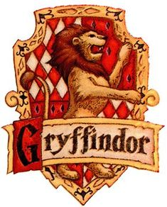 At school, Harry became a member of the House of Gryffindor whose coat of arms was a lion. Description from gnosticwarrior.com. I searched for this on bing.com/images