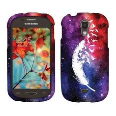 For Samsung Galaxy Light T399 Snap on Protector Rubberized Hard Cover Phone Case | eBay