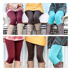 • Fleece Leggings • Solid color fleece leggings. Super soft and very stretchy! Looks like a regular sleek legging on the outside, but inside is warm fleece for those cold days. Great with tunics and long sweaters. One Size Fits Most  Your choice of colors: WINE, BROWN, TEAL 65% polyester, 20% cotton, 15% spandex.   •no trades •10% off all bundles  PLEASE DO NOT purchase this listing. Comment your size & color below and I'll make a listing for you. Jennifer's Chic Boutique Pants Leggings