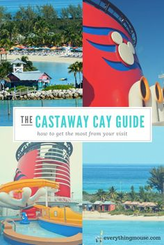Disney Cruise Tips. Your essential guide to Castaway Cay.