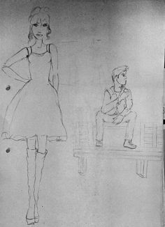 Algunos bocetos. .