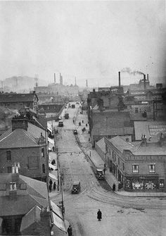 View looking up Borough Rd Burton On Trent, Sunderland, Old Pictures, Looking Up, Ministry, Paris Skyline, Roots, Louvre, Memories