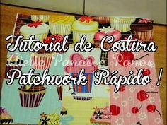 Tutorial de Costura- Patchwork rápido ( Quilt as you go! ) - YouTube