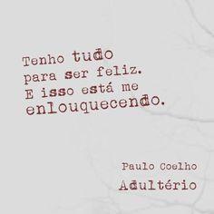 #PauloCoelho #Quotes #Português #Adulterio